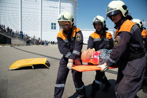 Exercise of Ministry of Emergency Situations